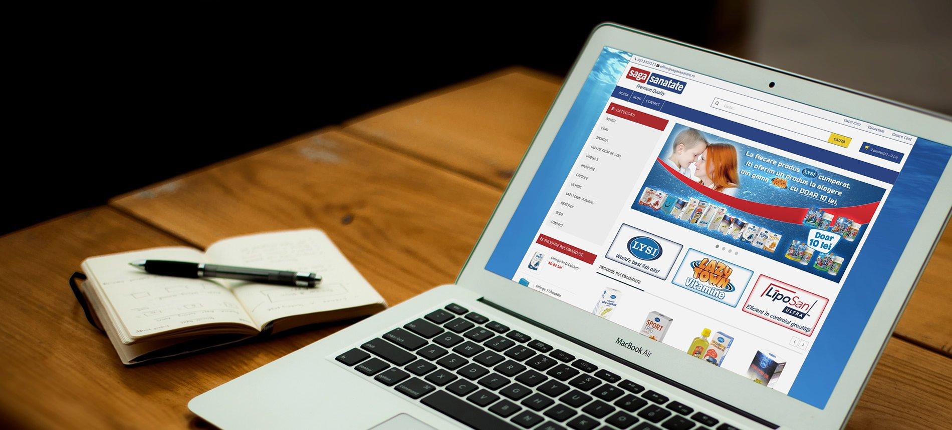 Dezvoltare si mentenanta pentru magazine online custom