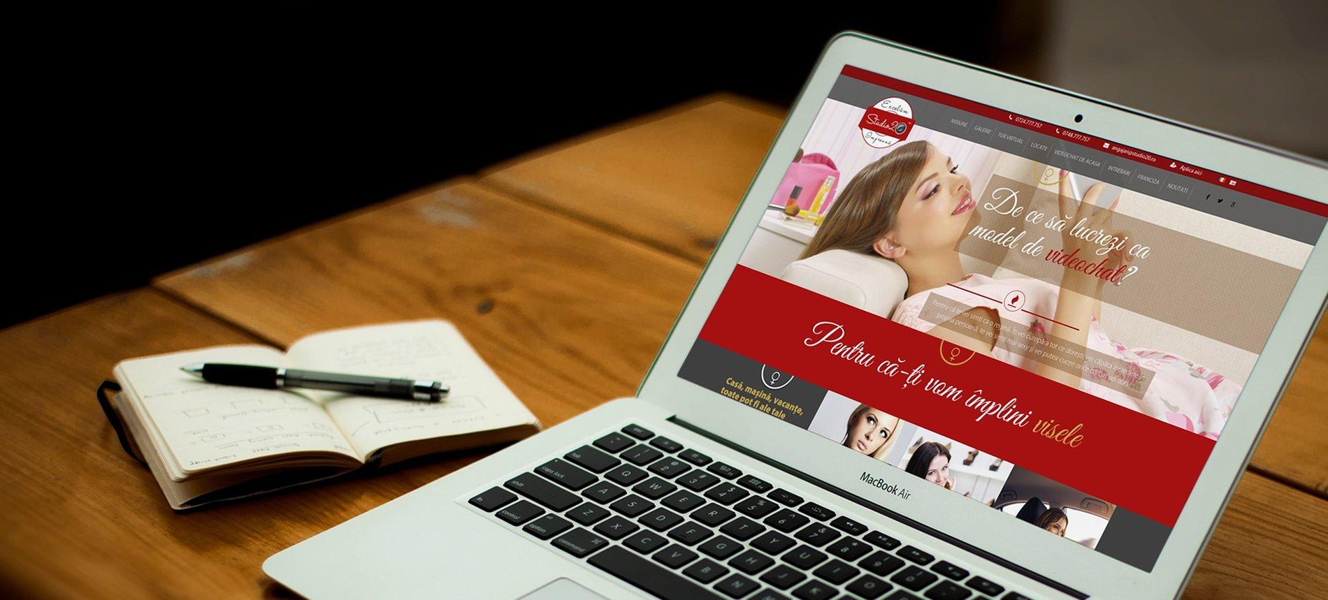 Site-uri de prezentare cu panou de administrare